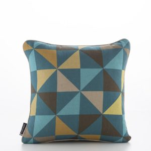 Geometric Pinwheels Multi Blue Cushion Cover (1)
