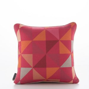 Geometric Pinwheels Pink Cushion Cover (1)