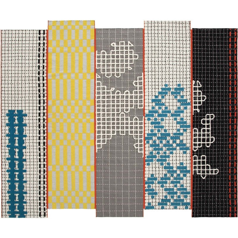 bandas turquoise rugs 300 x 250. Black Bedroom Furniture Sets. Home Design Ideas