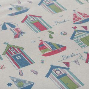 Beach Huts Tablecoth Oilcloth (4)