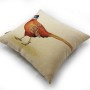 Blue Head Pheasant Tapestry Cushion Cover (3)