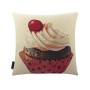 Cherry Cream Cupcake Cushion Cover (1)