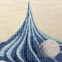 Pearls Blue Cupcake Cushion Cover (2)