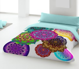 Mandala Flower Duvet Set Digitally Printed