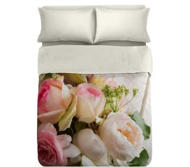 Romantic Roses Duvet Set Digitally Printed