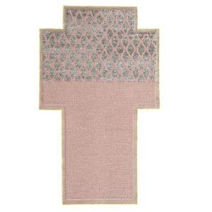 Mangas Space Rhombus Pink Rug (1)