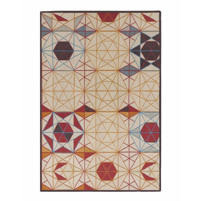 Kilim Hexa Rectangular Colorful Rug