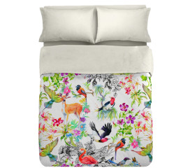 Botanic Duvet Set Digitally Printed
