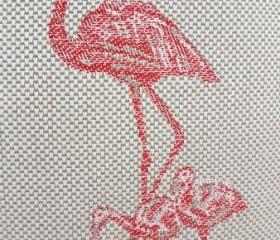 Kalim Flamingo Cushion Cover