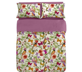 Birds Romantic Duvet Set Digitally Printed