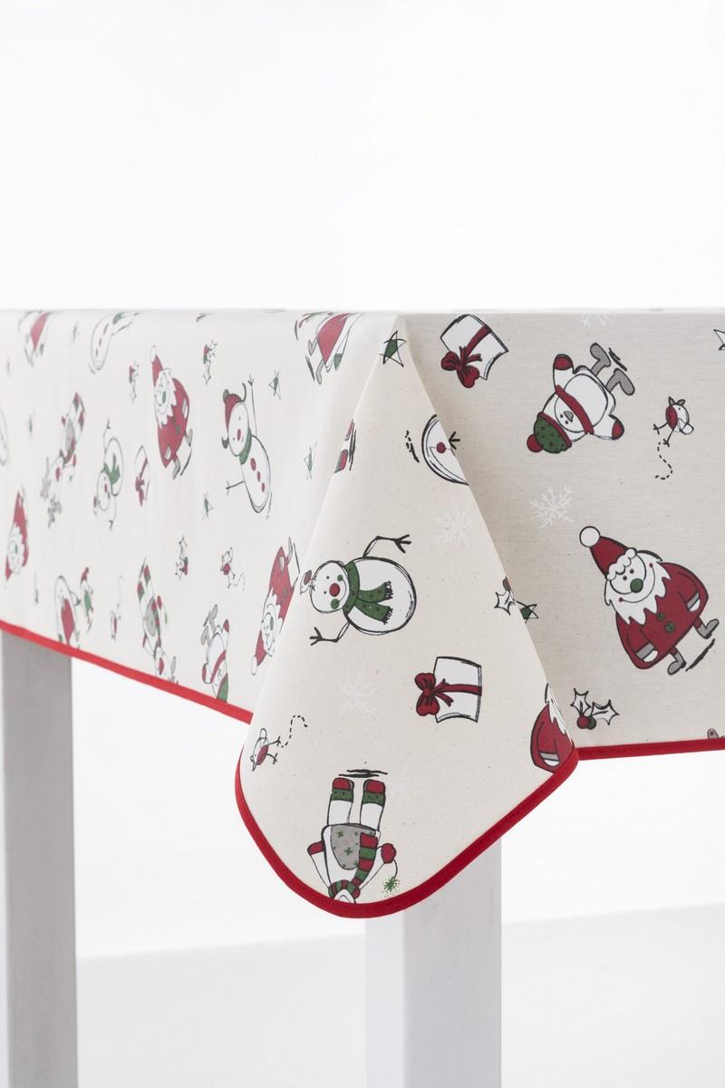 Christmas tablecloth decorations - Manteles para navidad ...