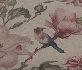 Birds Garden Pink Mantel