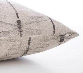 Funda de cojín Dragon Fly Zen Natural
