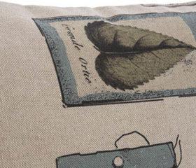 Zen Labels Cushion Cover