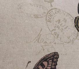 Funda de cojín Zen Mariposas