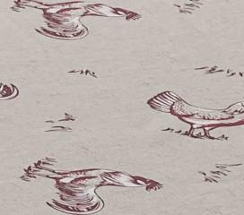 Mantel Antimanchas Resinado Granja de Gallos