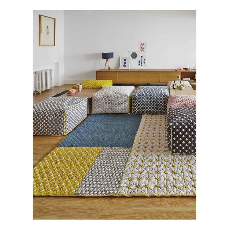 alfombra sila blue gan - Alfombras Modernas