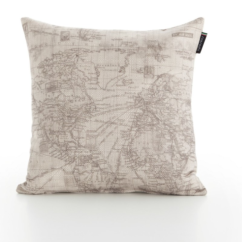 Digital Colombus Map Cushion Cover  (1)