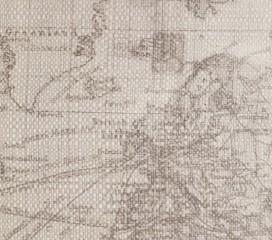 Funda Cojín Mapa Colombus