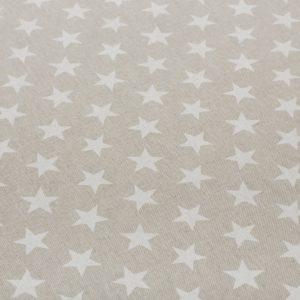 Stars Natural Oilcloth Tablecloth  (4)