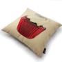 Creamy Flower Cupcake Cushion Cover (3)
