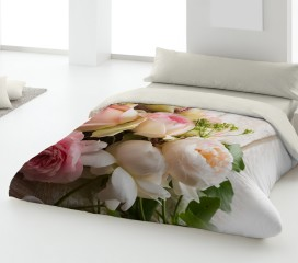 Romantic Roses Duvet Set Digitally Printed