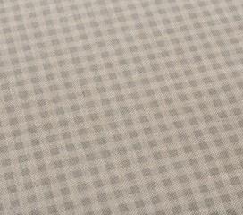 Mantel Antimanchas Resinado con Cuadros Grises y blancos Gingham Vintage