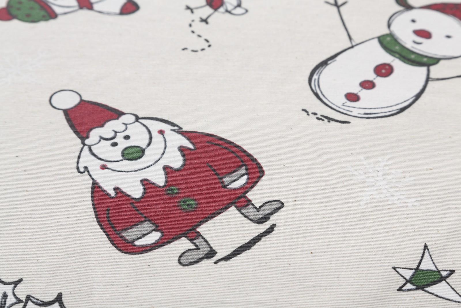 Christmas Olaf Oilcloth Tablecloth 4