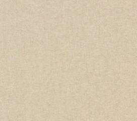Cortina lisa Natural con Ojal, de Lino y Algodón
