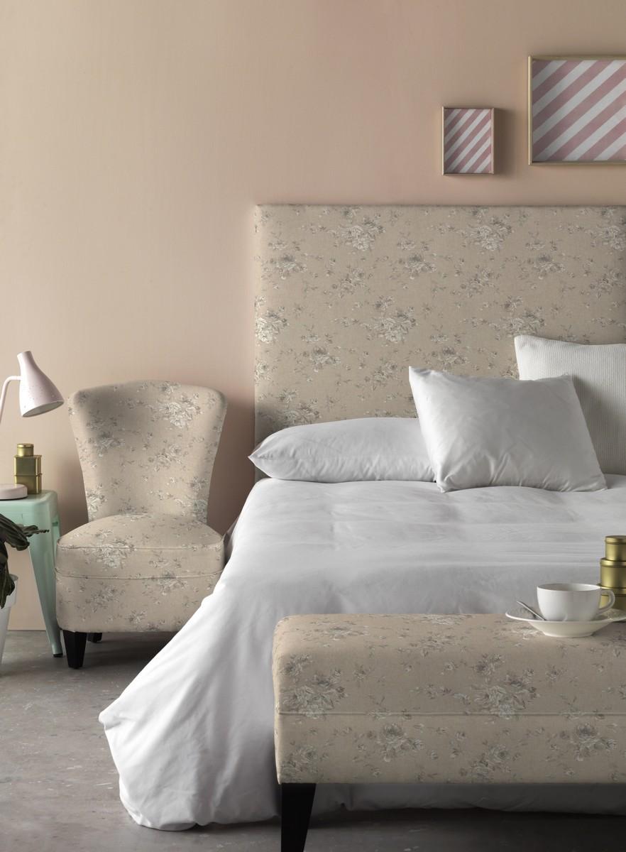 Grey Vintage Bedroom: French Vintage Petite Grey Bedroom Chair
