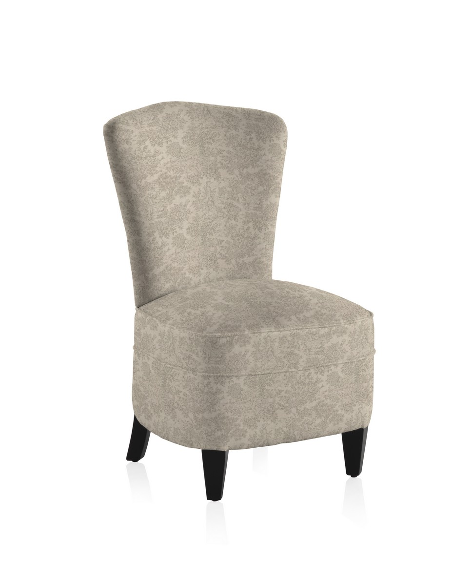 Grey Vintage Bedroom: French Vintage Toile Grey Bedroom Chair