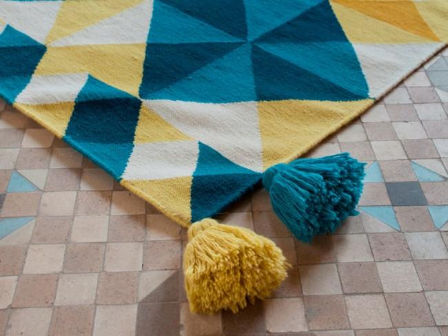Conoce todo sobre las alfombras con tecnica kilim for Alfombra kilim precio