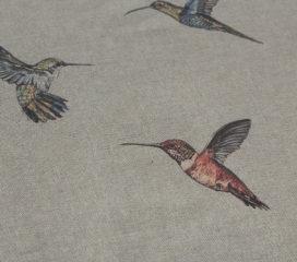 HUMMINGBIRDS DUCK EGG Mantel