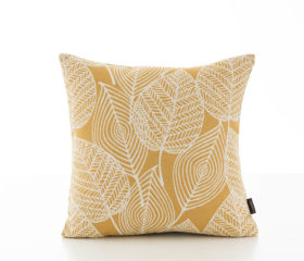 Patrice Gold Cushion Cover