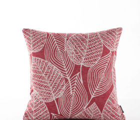 Patrice Red Cushion Cover