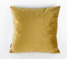 Funda cojín terciopelo en dorado Johana (Velvet)
