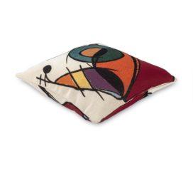 Funda de Cojín El oro Azul, colección Miró