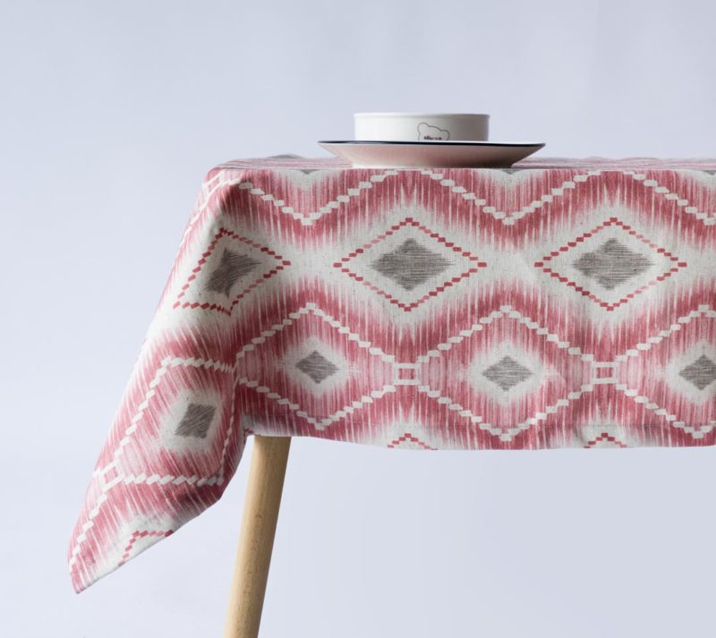 Mantel CAPE TITIAN 07 GREY ON PINK