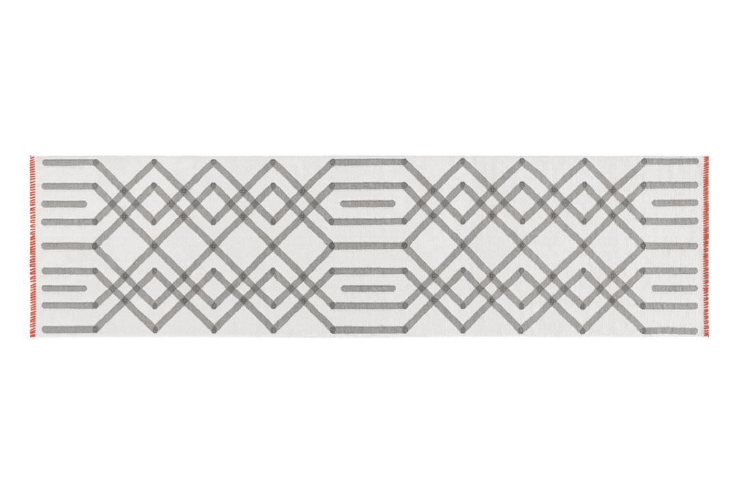 Duna Grey 80 x 145 Rug by GAN Rugs