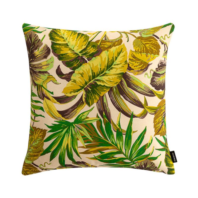 Outdoor Botanic Green Cushion Cover