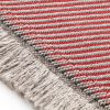 Garden Layers Diagonal Almond-Red Rug by Gan Rugs 2
