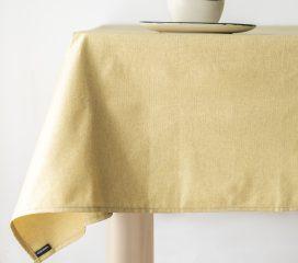 Oilcloth tablecloth ZEN ANTIQUE PASHA STRAW