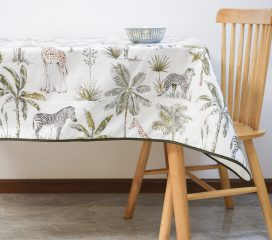 Oilcloth tablecloth KIDSTON SABANA ANIMALS