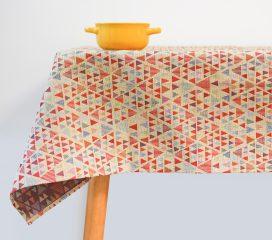 Oilcloth tablecloth THIRA TEFLON