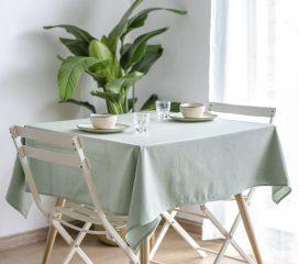Oilcloth tablecloth ZEN ANTIQUE CHERIMOYA