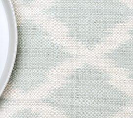 Mantel IKAT Shapphire Turquesa