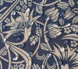 Mantel antimanchas ZEN SCROLL Azul