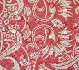 Mantel antimanchas ZEN SCROLL Rojo